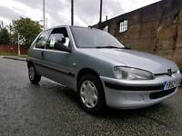 Peugeot 106 inderpendance limited edition 1.1 mot feb2018 low miles for year