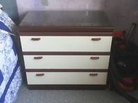 Chest of Drawers - 4 sets.