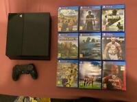 Playstation4 +9 Games And Controller In Walthamstow