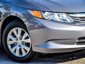 2012 Honda Civic LX- You wll have respect for its reliability.