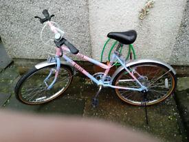 raleigh coco retro bike