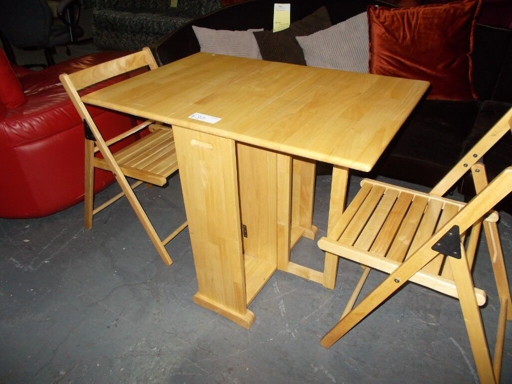 Magnificent Drop Leaf Table And 2 Folding Chairs Rf4995 In Bolton Manchester Gumtree Onthecornerstone Fun Painted Chair Ideas Images Onthecornerstoneorg