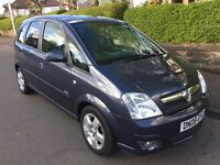 VAUXHALL MERIVA 1.6 DESIGN ** 08 PLATE ** 50,000 MILES FROM NEW **