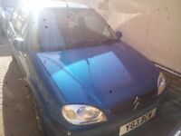 Citroen saxo vtr with 1.1l gearbox