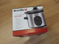 Breville slow cooker 1.5L brand new never used.