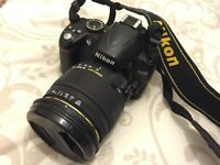 Nikon D3000 BODY + Sigma 18-50mm Lens