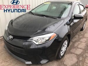 2014 Toyota Corolla CE LOW KMs   FACTORY WARRANTY   EXCELLENT CO