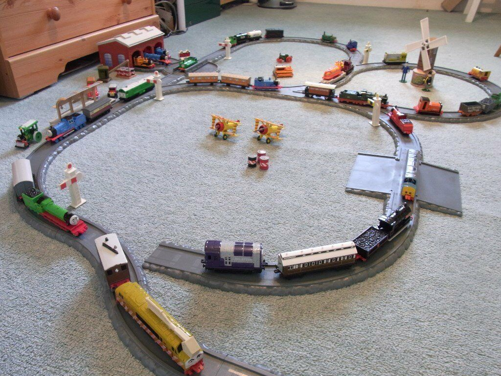 Thomas The Tank And Friends Track Layout In Branston