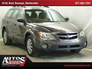 2008 Subaru Outback 2.5 i AWD, FAMILIALE