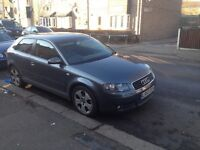Audi A3 2.0 fsi in gunmetal gay drives perfect with 10 month MOT