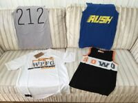 NEW MENS / BOYS VEST TOPS & T SHIRTS JOB LOT OF 40