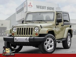 2013 Jeep Wrangler Sahara-4WD-Hard Top-Navigation-Alpine Sound