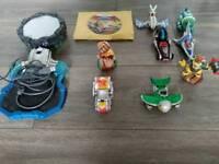 Bundle of WiiU skylanders superchargers
