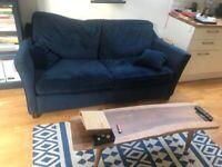 Convertible hand made sofa (Made in UK)