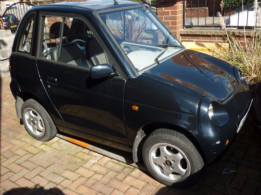 Reva G Wiz Black Electric Car Spares Or Repair In Rothwell