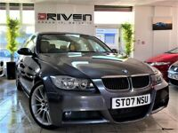 WOW! BMW 320D M SPORT AUTOMATIC +ALLOYS + LEATHER + 12 MONTHS MOT + FREE DELIVERY TO YOUR DOOR