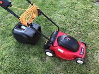 Champion electric lawnmower
