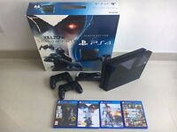 Sony PlayStation 4 Killzone Bundle 500 GB PS4 Camera GTA Battlefield Last Of Us - 2 Controllers