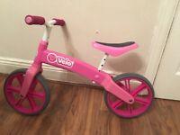 Girls velo Balance bike