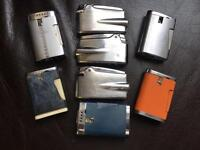 Eight Ronson lighters (lighter) for spares or repair