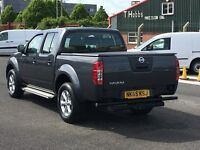2015 NISSAN NAVARA DOUBLE CAB 2.5 DCI VISIA. AS NEW THROUGHOUT. 13000 MILES ONLY AND NO VAT. NO VAT.