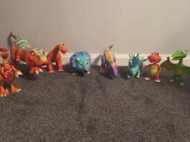 Interactive dinosaur train collection