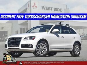 2016 Audi Q5 Quattro 2.0T Premium Plus-Accident Free-Turbocharge