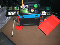 watercraft/octoplus seatbox with mudfeet, etc, tackle NOT included,