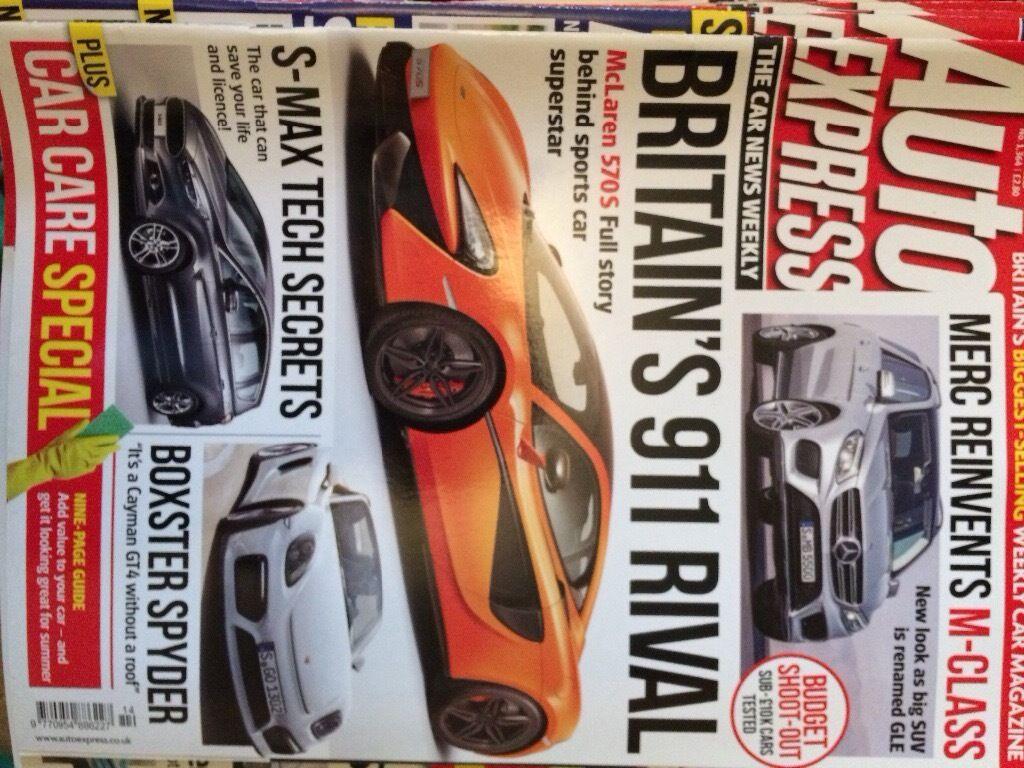 Auto express car magazines