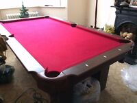 7.5 ft Snooker/ Pool Table
