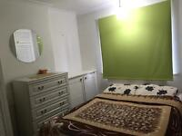 Double bedroom withs its own bathroom in a clean property