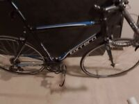 Brand new road racing race bike bicycle never used carrera largest size frame