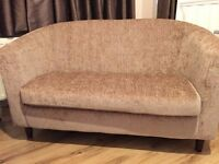 Two-seater tub sofa chair