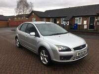 2008 08 FORD FOCUS 1.8 ZETEC CLIMATE SILVER 5 DOOR