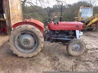 massey ferguson 135 tractor, good running order
