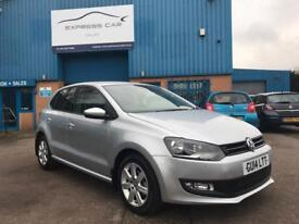 2014 VOLKSWAGEN POLO 1.4 MATCH AUTOMATIC # LIKE NEW # GREAT SPEC # GENUINE LOW MILES # CAT S