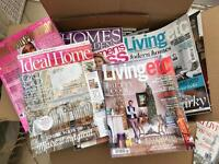Large Collection of Home/Design Magazines - worth £150+