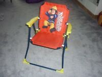 Fireman Sam folding chair