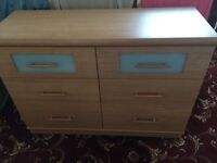 Dressing Table and Chests x 2