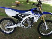 practically brand new 2014 yz250f. only 1hr