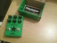 Blackstar LT Dual distortion and overdrive pedal. Boxed,mint.