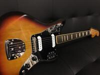 Rare Fender Jaguar with blocks n binding MIJ 66
