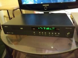 Arcam DV 88 dvd/cd player. Black good condition. Comes with remote(not original)