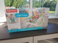 New in Box Fisher price baby to toddler rocker - £35 ono