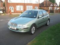 Rover 25 1.4 Impression 5 door hatchback
