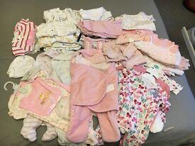 Baby Girls 0-3 month bundle