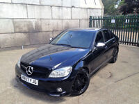 AUTOMATIC MERCEDES C180 KOMPRESSOR AMG. GENUINE AMG MODEL. ONLY 76 K MILES. SUPERB DRIVE. BARGAIN