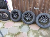 """18"""" ALLOYS CAME OF VW GOLF"""