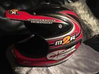 Crosser bike helmet