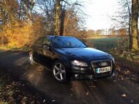 Audi A4 S Line Special Edition Quattro, 2.0tdi 170bhp. FSH and huge spec: xenon, leather, etc.